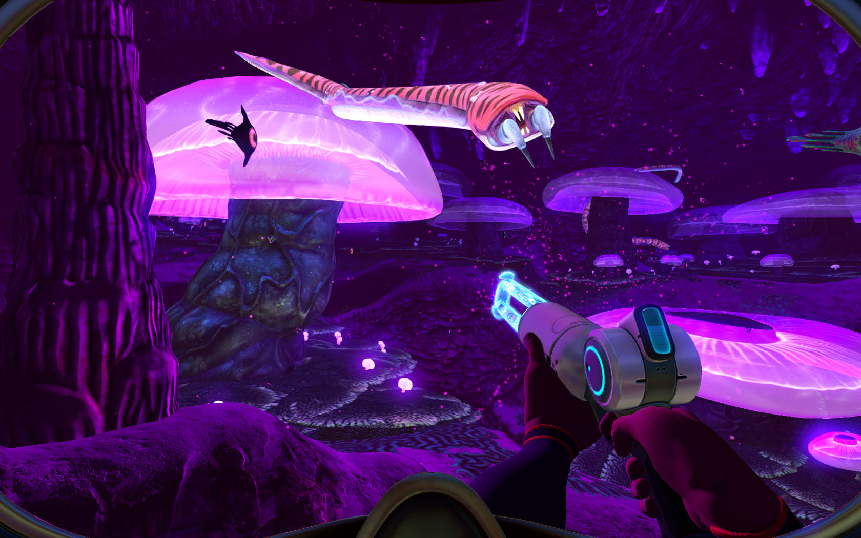 screenshot of subnautica